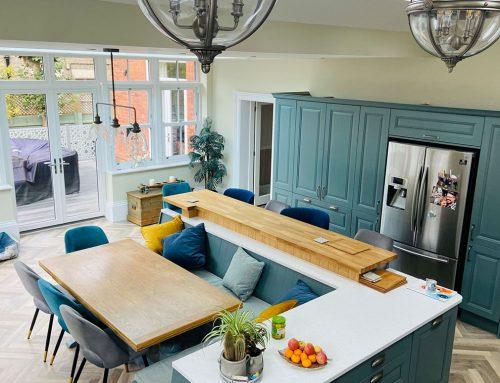 Beautiful High-end Kitchen Paint Job