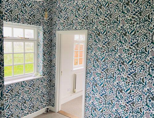 Floral Wallpaper Remodel